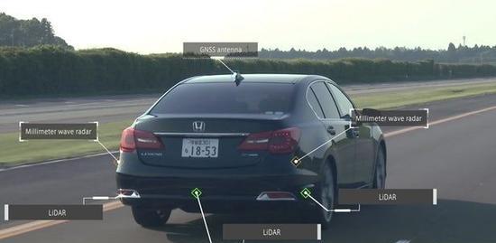 本田透露自动驾驶计划:2025推全自动驾驶车